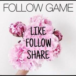 FOLLOW GAME💕 Like•Follow•Share